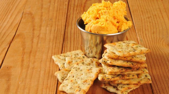 Vegan Cheddar Cheese Spread